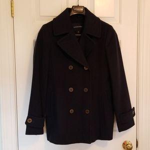 Lands End Ladies Pea Coat